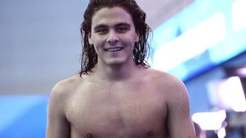 Kalmár Ákos telibe úszta az olimpiai szintet