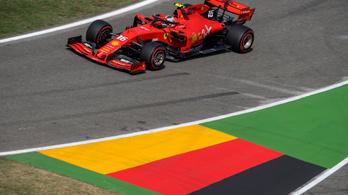 Leclerc nyerte a 3. edzést a Német GP-n, Hamilton csak hatodik