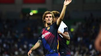Griezmann már őrülten várja, hogy Messivel játszhasson