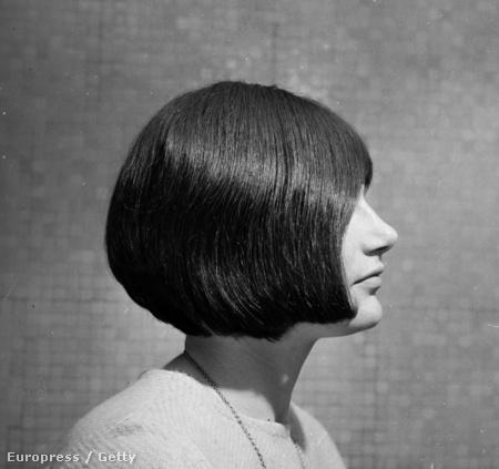 1964: Jillian Robertson az egyik klasszikus Sassoon-formával