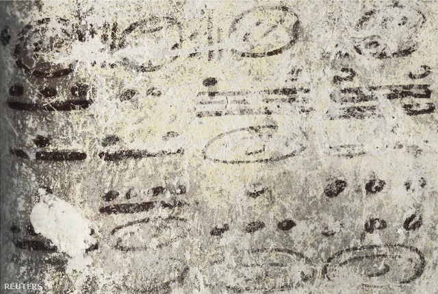 Számítások egy guatemalai őserdő mélyén rejtőző rom falán