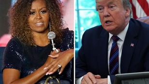 Az angol királyi család után most Michelle Obama is jelezte Donald Trump felé, hogy nincs oda érte