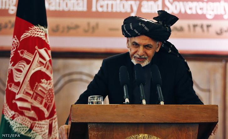 Asraf Gáni afgán államfõ