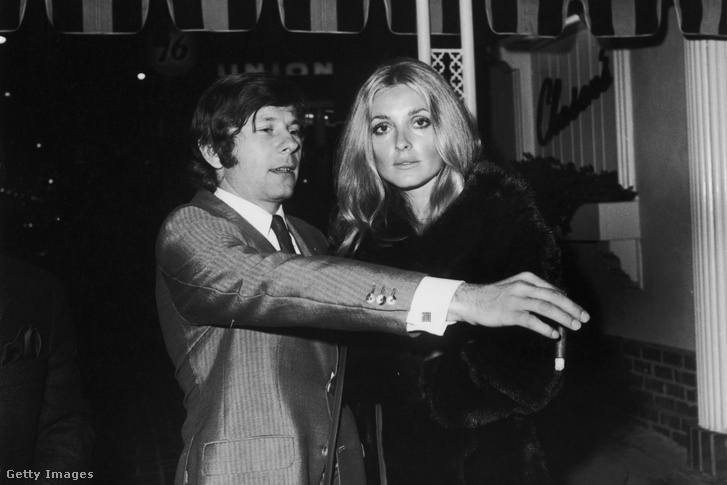 Roman Polanski és Sharon Tate