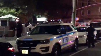 Lövöldözés volt Brooklynban egy utcabálon