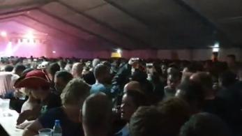 Tömegverekedés volt a székesfehérvári FEZEN fesztiválon, egy embert előállítottak