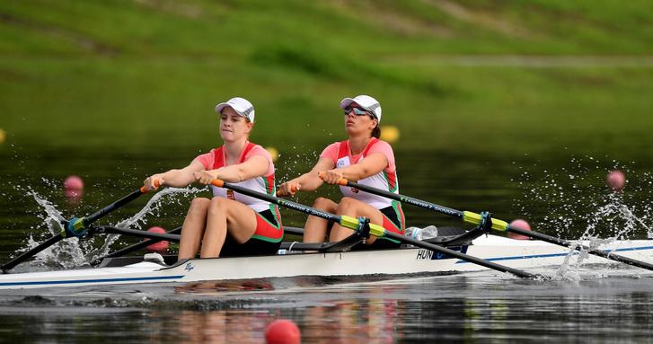Preil Vivien és Gadányi Zoltána kettőse a floridai versenyen
