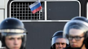 Kórházba vitték a börtönből az orosz tüntetések vezéralakját