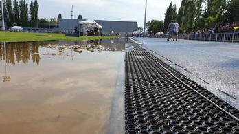 Elmosta az eső az olimpiai bajnok Pars Krisztián visszatérését