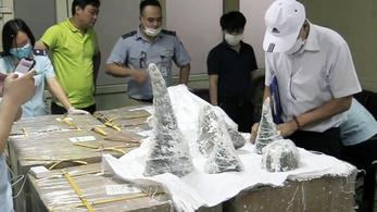 2,2 milliárd forintnyi orrszarvútülköt foglaltak le Vietnámban