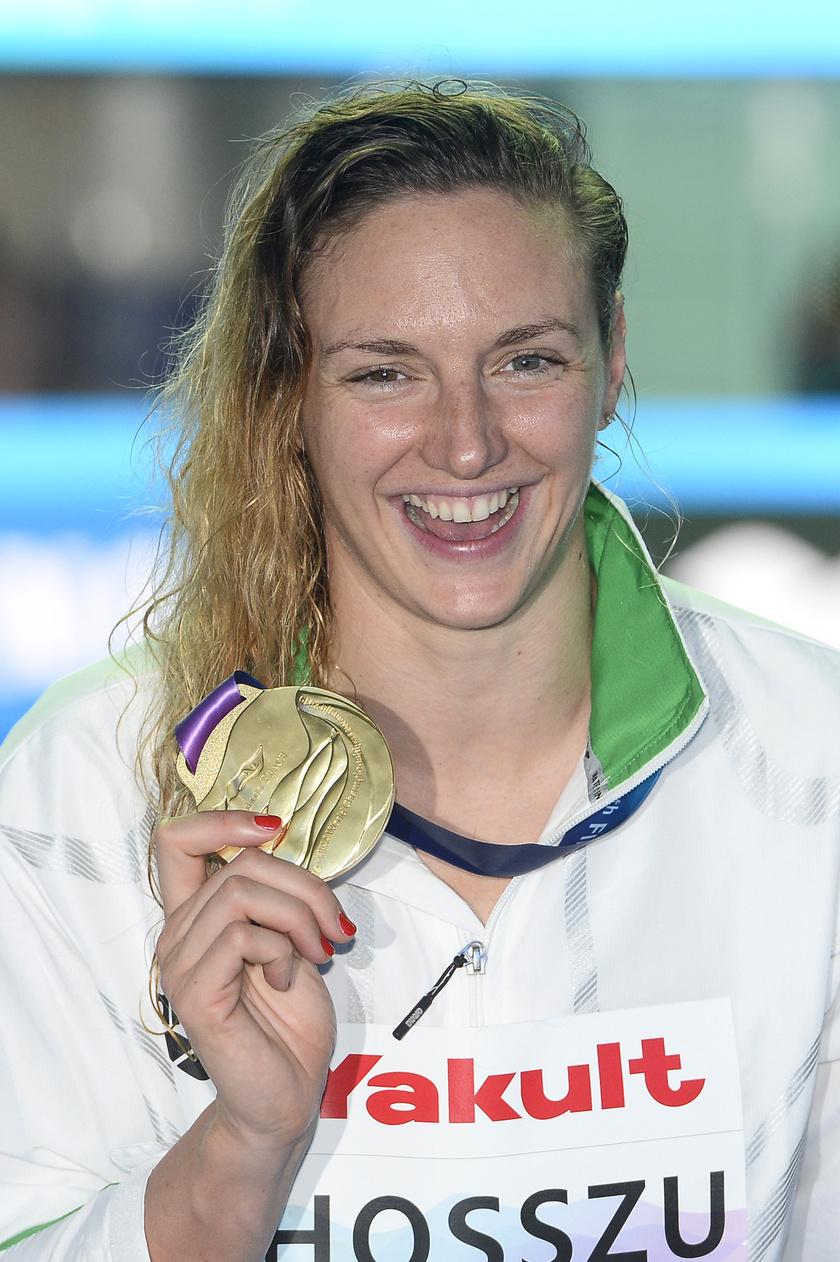 Hosszú Katinka ötszörös aranyérmes lett a hétvégi döntőben.
