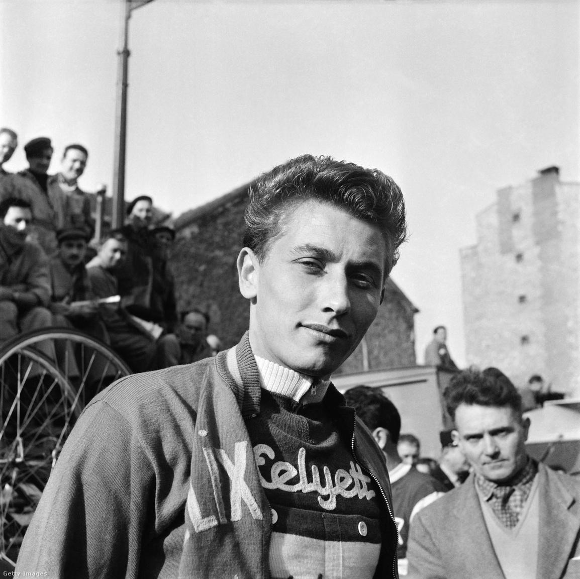 A verseny történetének első ötszörös győztese a francia Jacques Anquetil lett. 1957-ben újoncként került a  csapatba, és mindjárt első kísérletére megnyerte a sárga trikót jó időfutamainak köszönhetően. Anquetil a bulizásban is az élen járt, versenyek közben is eljárt partikra, kártyázni és közben persze ivott is.