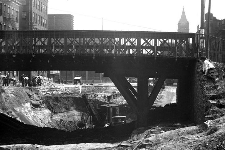 Cincinnati metróépítés az 1920-as években