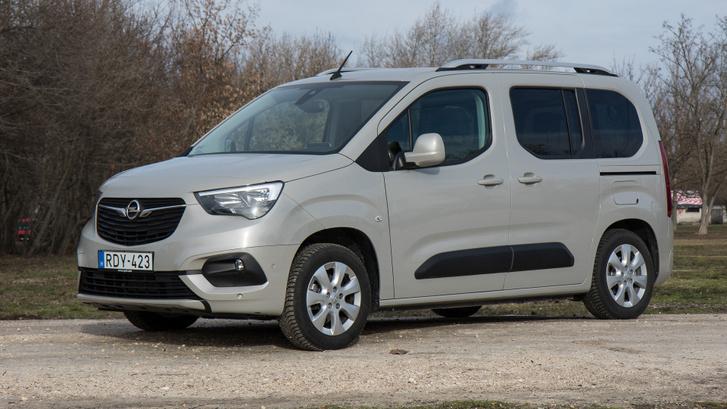 Ha akarnánk se tudnánk most egy ideig Opel Combo Lifeot vásárolni