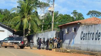 Börtönlázadás Brazíliában: 16 embert lefejeztek, összesen 57 halott