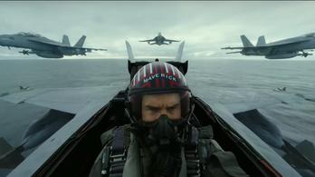 Régi csaja nélkül hepajkodik Maverick a Top Gun 2-ben