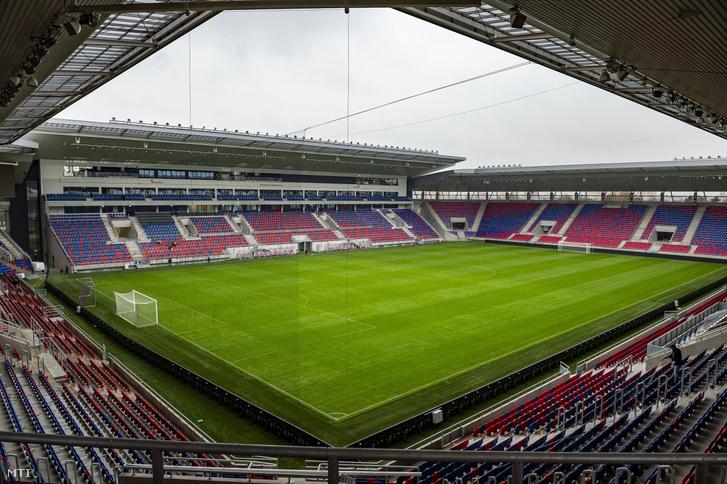 Az új székesfehérvári Sóstói Stadion 2018. november 19-én.
