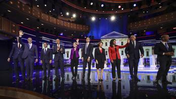 Bidenre össztűz zúdulhat a második demokrata tévévitában
