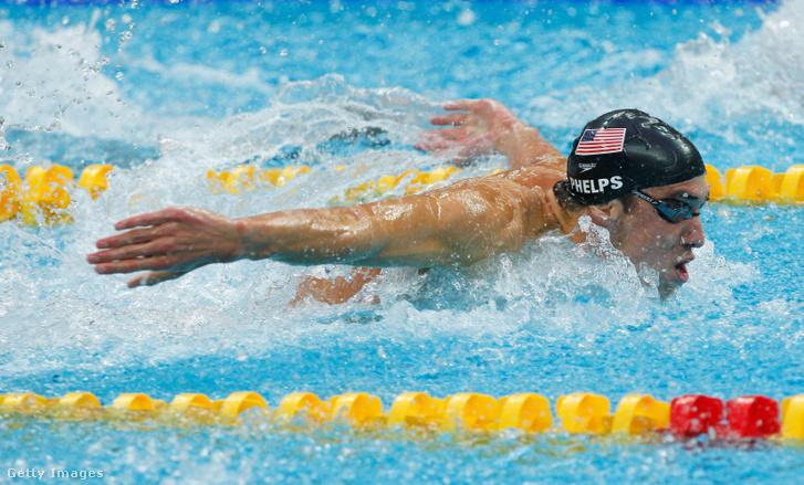 Michael Phelps a 2008-as pekingi olimpián.