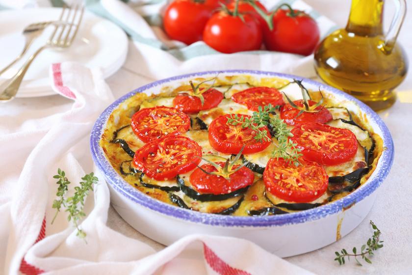 Paradicsomos cukkini egyenesen a sütőből: főétel vagy köret is lehet