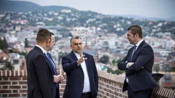 Gruevszki pártjának vezetőit fogadta Orbán