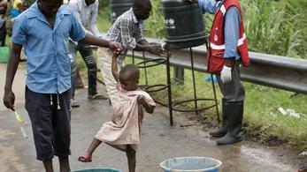 A kongói ebolások harmada gyerek