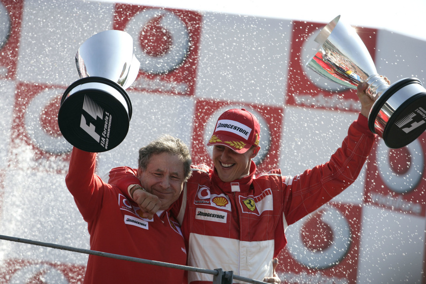 Schumacher és Todt között nemcsak munkakapcsolat volt, hanem barátság is.