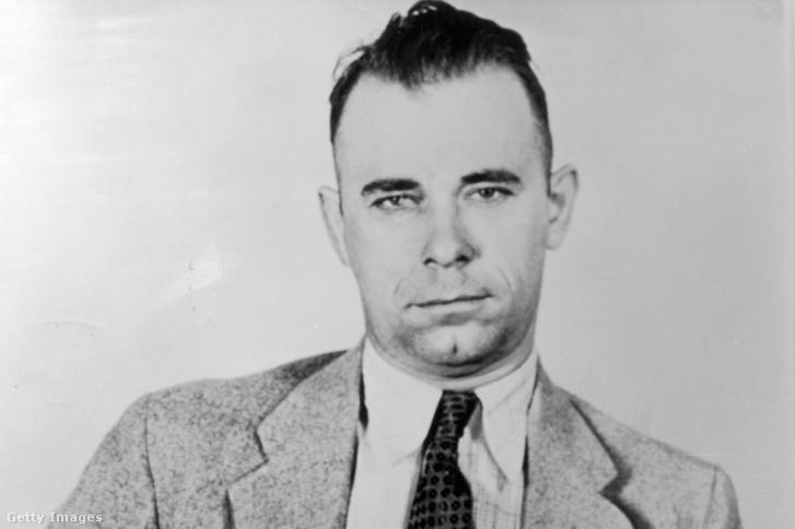 John Dillinger 1934 körül