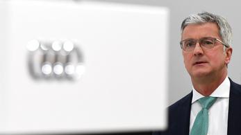 Dízelbotrány: vádat emeltek az Audi volt vezérigazgatója ellen is
