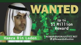 Hírszerzési jelentések szerint meghalt Oszama Bin Laden fia és örököse
