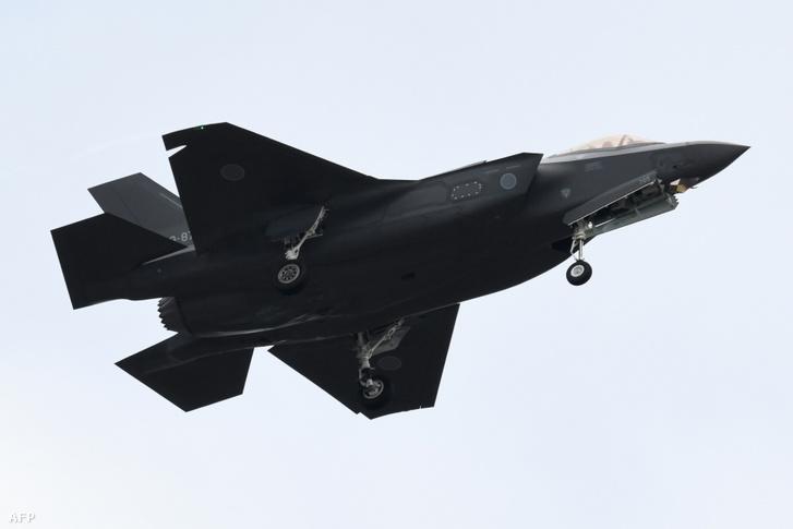 Japán F-35-ös a levegőben