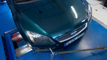 Totalcar Erőmérő: Ford Focus 2.0 Duratec HE (második mérés)