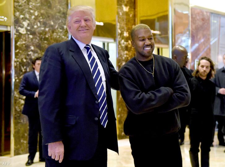 Donald Trump és Kanye West