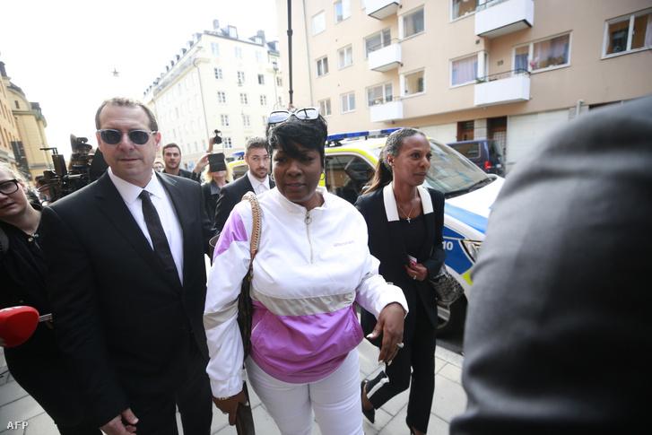 Asap Rocky édesanyja (Renee Black) érkezik fia stockholmi tárgyalására