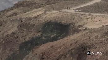 A Csillagok háborúja-kanyonban zuhant le az amerikai haditengerészet vadászgépe
