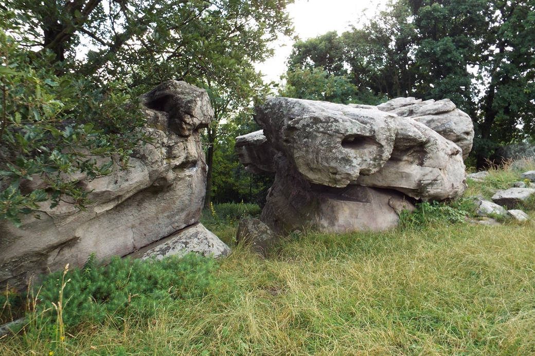 A különleges kőalakzatok úgy keletkezhettek, hogy a vulkáni lávát megszilárdította a feltörő hévízforrások vize.