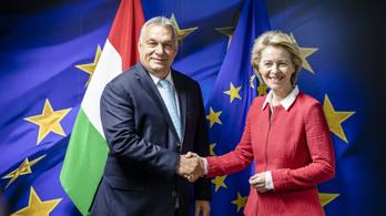 Von der Leyen azt mondja, jót beszélgetett Orbánnal