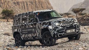 A Vöröskereszt is tesztelte az új Land Rover Defendert