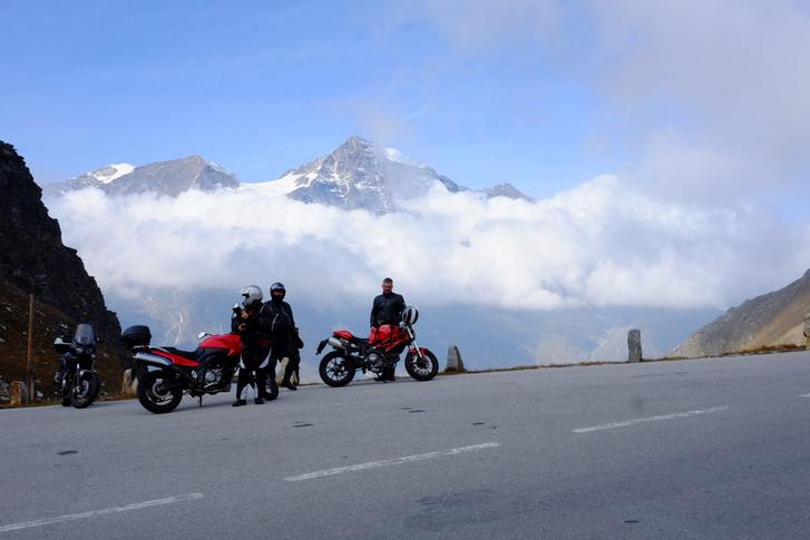 Tavaly a Grossglockneren. Ez volt a belépő a Dolomitokhoz