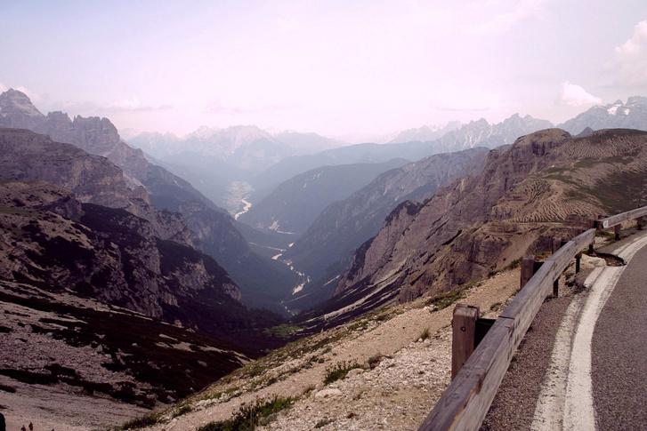 Nekem ez a legszebb kilátás a Dolomitokból: Tre Cime