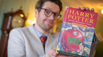 Tízmillió forintért talált gazdára az első Harry Potter-könyv egyik ritka példánya