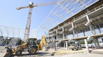Négymilliárd forinttal drágult a szegedi futballstadion