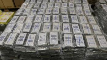 Rekordnagyságú, négy és fél tonnás kokainfogás Hamburgban