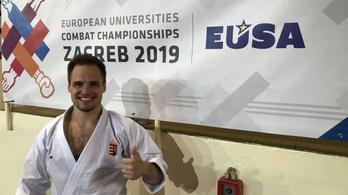 Magyar karatés győzött az egyetemi Európa-bajnokságon