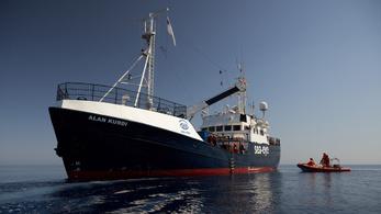 Málta fogadja a német mentőhajót