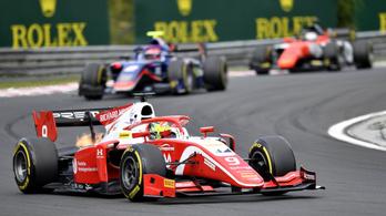 A Hungaroringen nyert először a kis Schumacher a Forma-2-ben