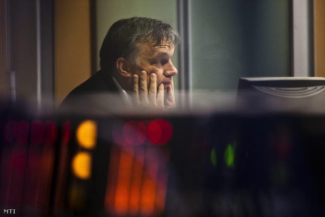 Orbán az MR1-Kossuth Rádió 180 perc című műsorában