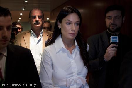 A kerítéssel vádolt Nicole Minetti
