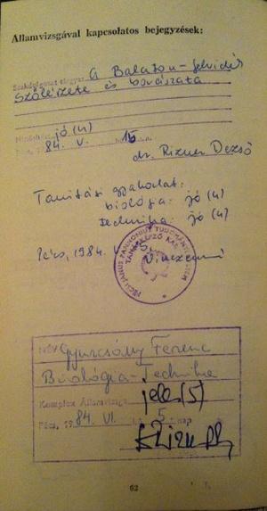 Gyurcsány Ferenc leckekönyve