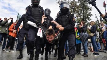 Rég akart az orosz vezetés ennyire odacsapni az ellenzéknek